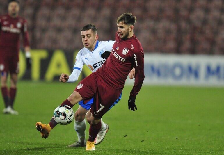 Craiova și CFR Cluj, egal care o face pe FCSB lidera Ligii 1 înainte de startul play-off-ului