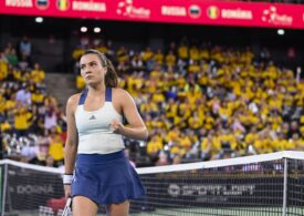 Gabriela Ruse menține în viață speranțele României în meciul de baraj cu Italia din Fed Cup