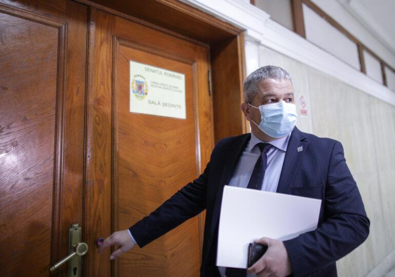 Fostul ministru PSD Florian Bodog a rămas fără imunitate şi poate fi urmărit penal. Senatul a avizat cererea DNA