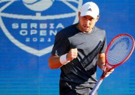 Novak Djokovici a fost eliminat la turneul de casă de la Belgrad, după un meci electrizant de peste trei ore