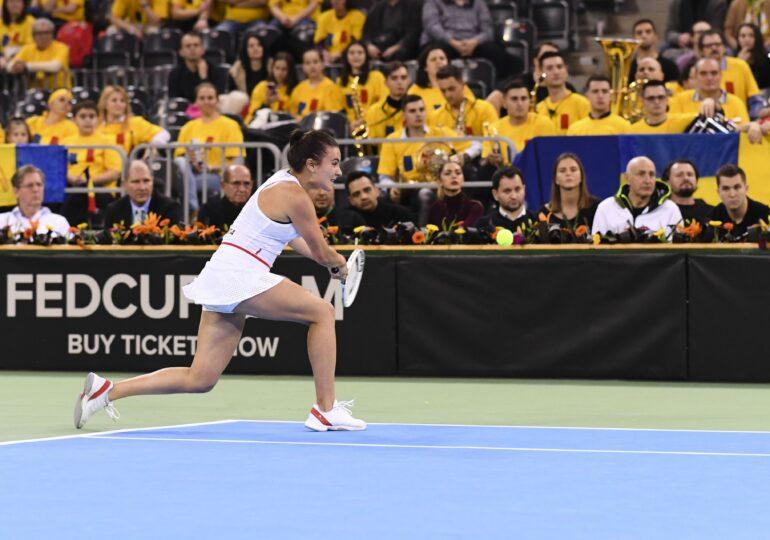 Gabriela Ruse, mutarea Monicăi Niculescu pentru primul joc al zilei din România - Italia, în Fed Cup