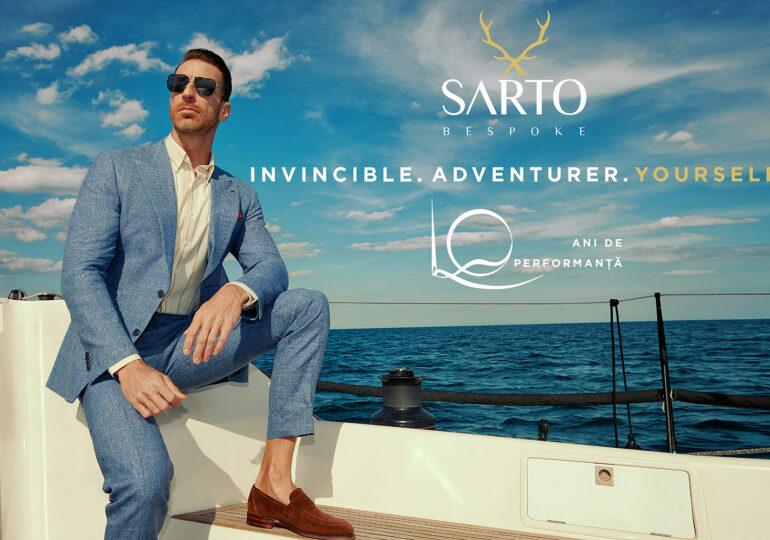 SARTO bespoke anunță colecția spectaculoasă a verii concentrată pe libertate și confort