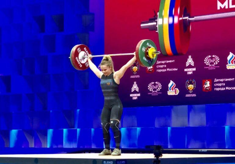 România obține încă o medalie de aur la Campionatele Europene de haltere de la Moscova