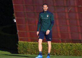 Bonucci, testat pozitiv cu Covid-19. Alți 3 jucători de la Juventus au fost la o petrecere clandestină