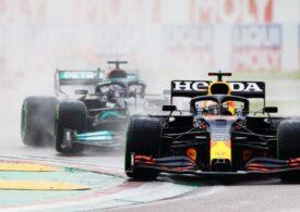 Max Verstappen câștigă o cursă spectaculoasă la Imola