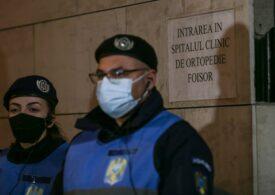 Primul pacient bolnav de Covid a ajuns la Spitalul Foișor