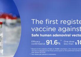 Rusia oferă străinilor şansa de a se vaccina împotriva Covid-19, cu vaccinul Sputnik V