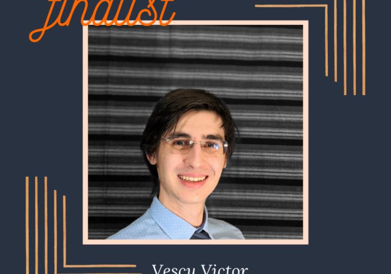 Victor Vescu, student Oxford și absolvent Laude-Reut, câștigător al premiului Ligii Studenților Români din Străinătate pentru Excelență Academică