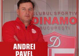 Andrei Pavel a semnat cu Dinamo
