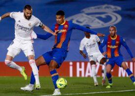 Real Madrid a câștigat derbiul cu FC Barcelona