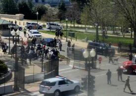 Poliţişti răniţi lângă Capitoliu, după ce au fost loviţi de o maşină. Atacatorul și un polițist au murit - UPDATE