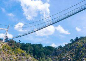 Cel mai lung pod suspendat pentru pietoni din lume va fi inaugurat în Portugalia (Foto & Video)
