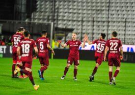 Liga 1: CFR Cluj urcă pe primul loc al clasamentului grație islandezului Sigurjonsson