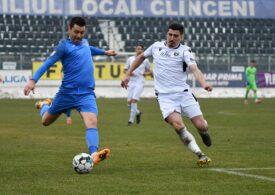 Academica Clinceni, cu un pas în play-off-ul Ligii 1