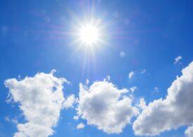 Meteo: Zile cu cer senin și soare darnic
