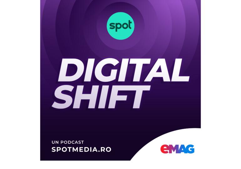 Am lansat Digital Shift, podcast despre transformarea digitală a României