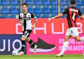 Dennis Man, taxat de presa din Italia după evoluția din meciul cu Inter Milano