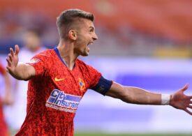 FCSB câștigă cu Clinceni și revine pe primul loc în clasamentul Ligii 1