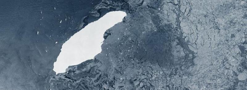 Cel mai mare ghețar din lume nu mai există. A68 s-a rupt în mii de bucăți care se topesc rapid