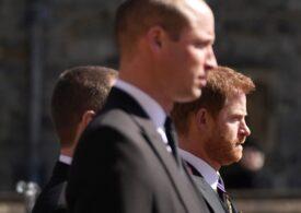 Prinţii William şi Harry și-au vorbit și au plecat împreună de la înmormântarea bunicului lor (Video)