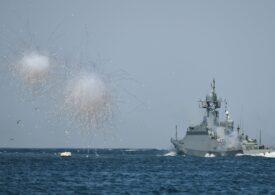 Flota rusă face exerciții antidronă în Marea Neagră