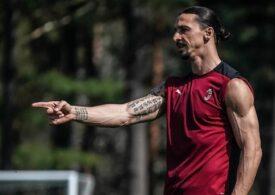 Zlatan Ibrahimovic și-a aflat pedeapsa după eliminarea din ultimul meci