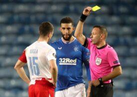Suspendarea drastică primită Ondrej Kudela după incidentele de la meciul Rangers - Slavia Praga