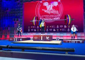 Loredana Toma a cucerit trei medalii de aur la Europenele de la Moscova