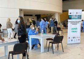 Cele mai mari două centre de vaccinare din Sibiu își suspendă activitatea din cauza numărului mic de doritori