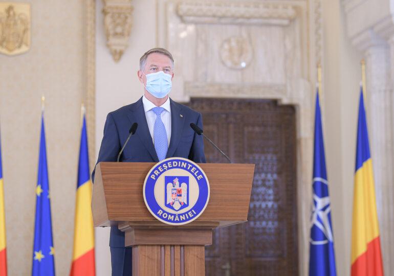 Iohannis, mesaj pentru români: Vaccinați-vă, pentru o vară cu cât mai puține restricții