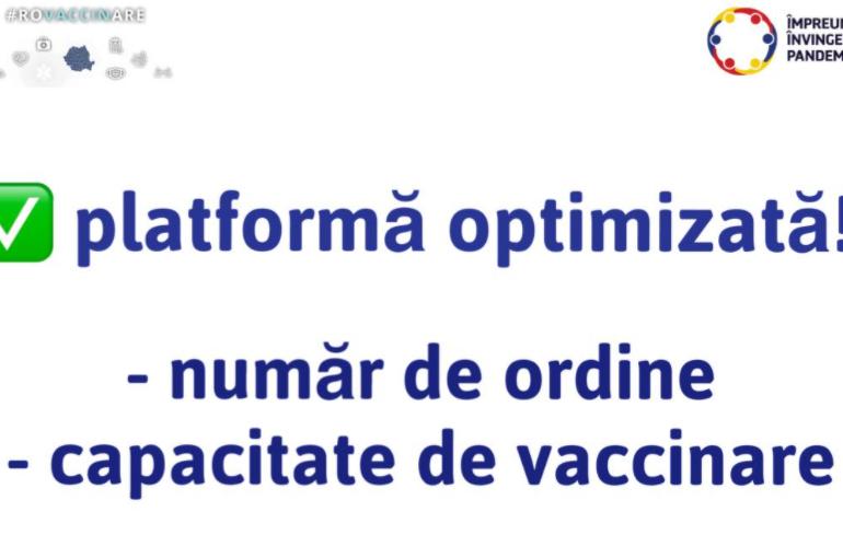 În sfârșit, persoanele înscrise la vaccinare pot vedea ce loc au pe lista de așteptare