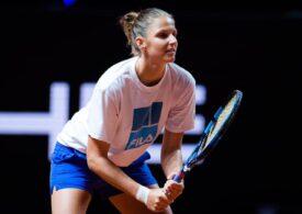 Pliskova o învinge pe Ostapenko după un meci de două ore și 25 minute