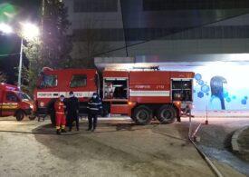 Incendiu la Spitalul Judeţean de Urgenţă din Bacău: Nu sunt victime şi nu au fost evacuate persoane