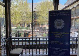 Campanie de vaccinare a angajaților din HORECA, la Hanul lui Manuc din Capitală (Galerie foto)