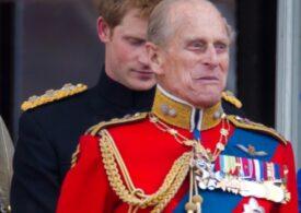 Prințul Harry s-a întors în Marea Britanie fără Meghan, pentru a participa la înmormântarea bunicului său
