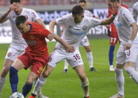 Liga 1: FCSB ratează victoria cu CFR Cluj în prelungiri după o mare gafă a lui Vlad