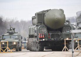 Armata rusă a început retragerea militarilor de la frontiera cu Ucraina