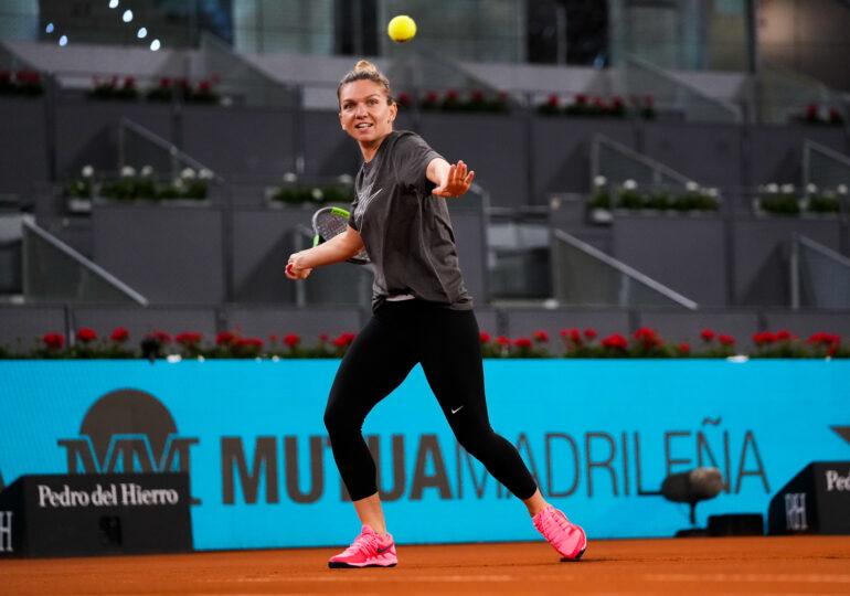 Simona Halep, în optimi la Madrid: Iată ora de start a meciului cu Elise Mertens