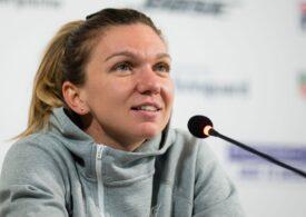 Reacția Simonei Halep după victoria cu Vondrousova de la Stuttgart