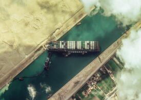 Toate cele 422 de nave care erau blocate după eşuarea Ever Given au trecut prin Canalul Suez