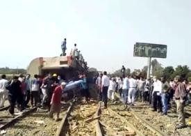 Cel puţin 11 morţi şi aproape 100 de pasageri au fost răniţi, după ce un tren a deraiat în Egipt