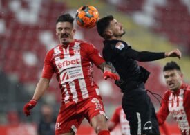 Viitorul ajunge la patru înfrângeri consecutive în Liga 1 și intră în hora retrogradării