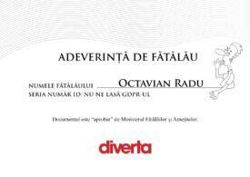 """Proprietarul Diverta anunță că este primul """"fătălău"""" cu adeverință, ca replică pentru Dana Budeanu"""