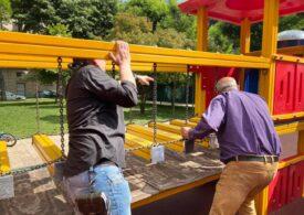 Parcurile din sectorul 2, vandalizate. Primarul înlocuiește paznicii cu echipe mobile