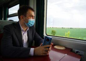 Drulă avertizează că vor mai fi întârzieri la trenuri în perioada următoare, dar speră că nu cu orele