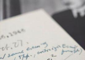 O scrisoare manuscris a lui Einstein, conţinând ecuaţia teoriei relativităţii, a fost vândută la licitaţie pentru 1,2 milioane de dolari (Video)
