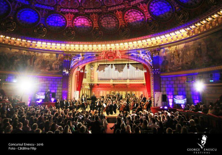 Concursul Enescu începe vânzarea de locuri la Ateneu pentru concertele si recitalurile sale