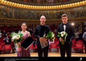 Valentin Șerban din România este marele câștigător al Finalei de Vioară la Concursul Internațional George Enescu