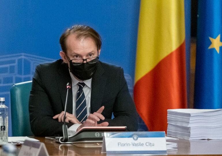 """Cîțu spune că documentul de la Guvern dedicat campaniei sale din PNL e """"o fițuică"""" și refuză să o comenteze """"ca premier"""" (Video)"""