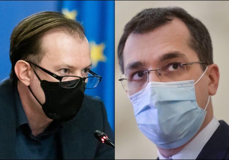 Voiculescu îi explică lui Cîțu cum e cu vaccinurile: Una e să ai carnet și alta să conduci beat
